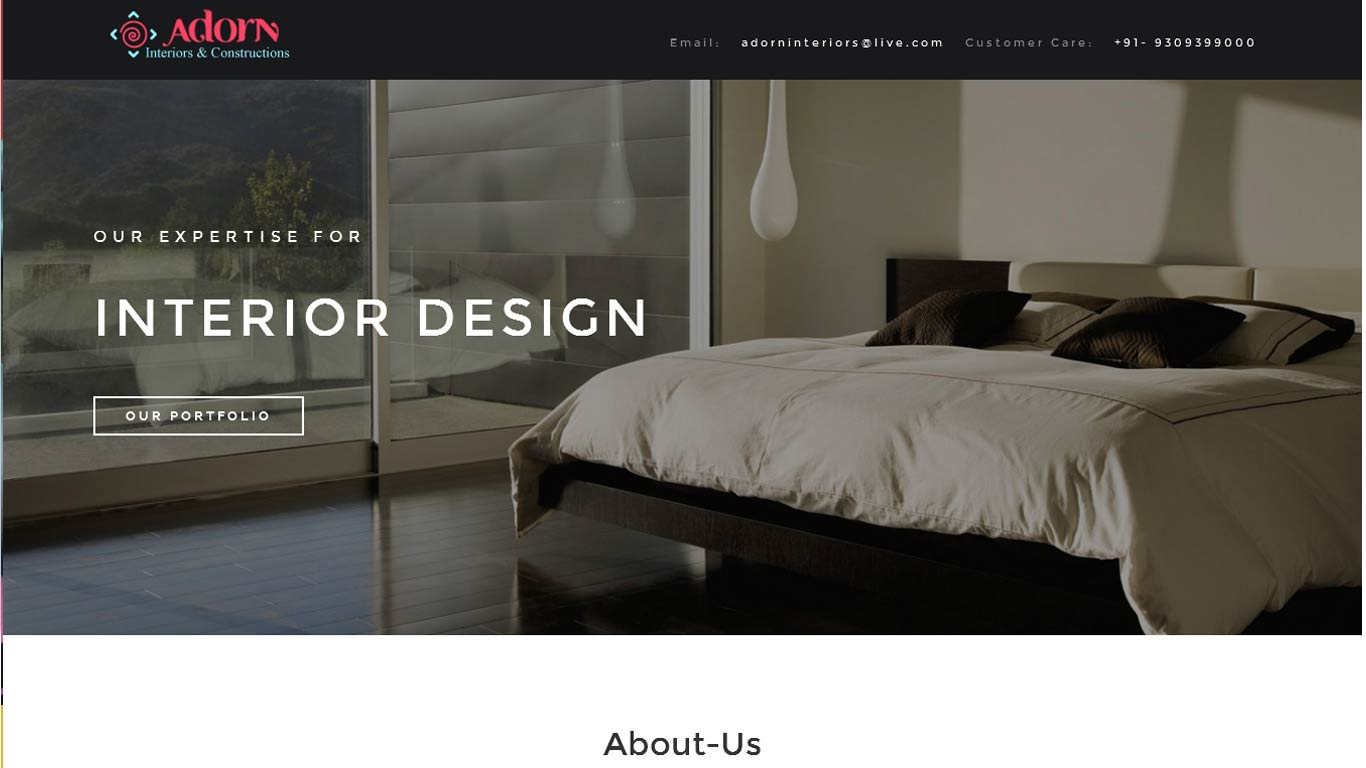 albumcafedesigning website development by euniversal ads media