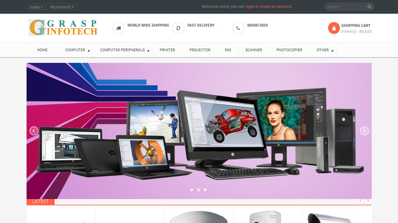 f3fashion website development by euniversal ads media